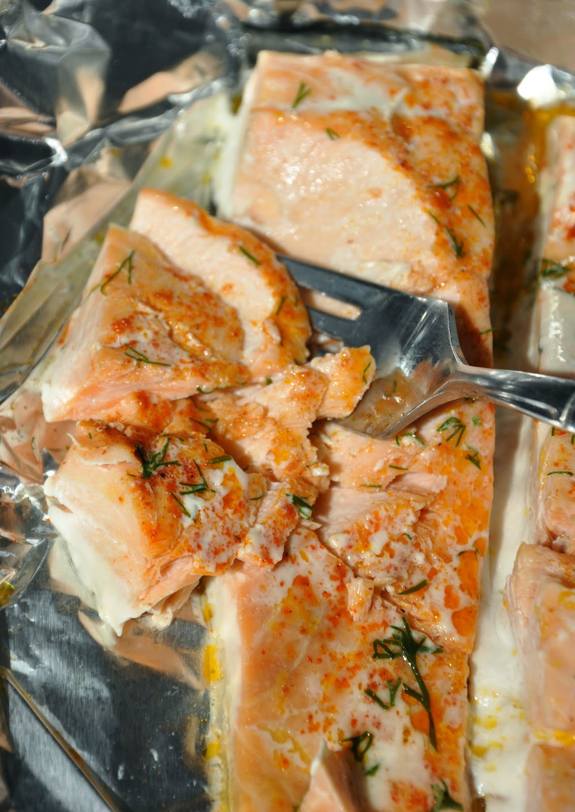 Perfect Foil Baked Salmon
