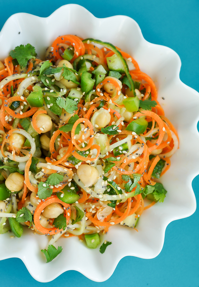 ... recipes with and Cilantro Cucumber Thai Sour Carrots, Salad Chickpeas