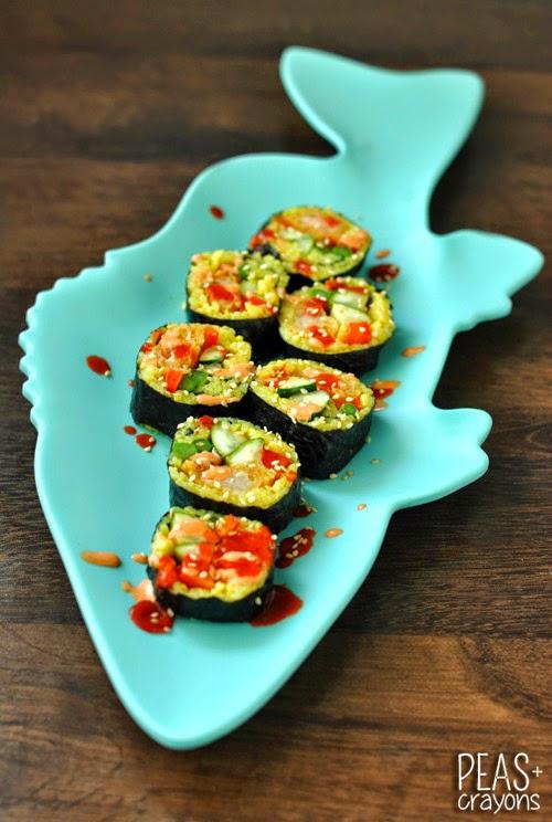 Southwest Sushi Platter