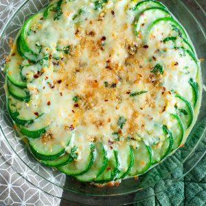 Zucchini Gratin Recipe