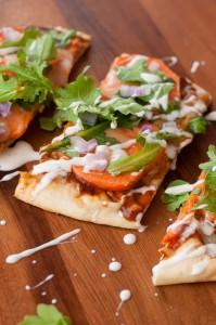 BBQ Ranch Sweet Potato Pizza