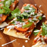 Barbecue Ranch Sweet Potato Pizza