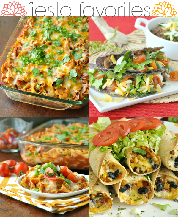 Get your fiesta on with these Healthy Cinco de Mayo favorites!