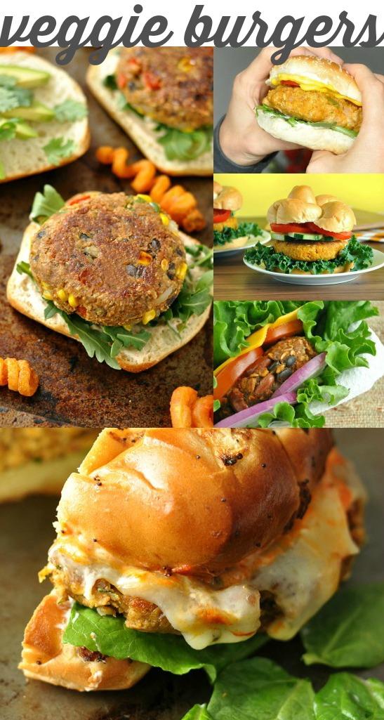 20 fabulous freezer-friendly recipes: Homemade Veggie Burgers