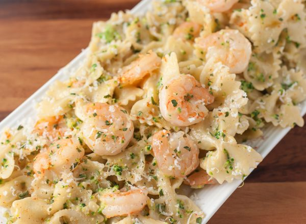 Creamy Cajun Shrimp and Broccoli Pasta