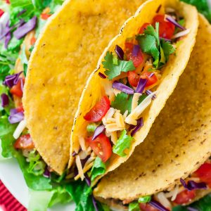 Roasted Chickpea Tacos Recipe Peas And Crayons