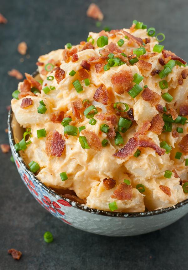 Bacon Sriracha Potato Salad