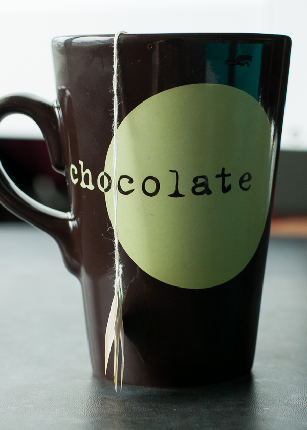 Chocolate Mug with Tea