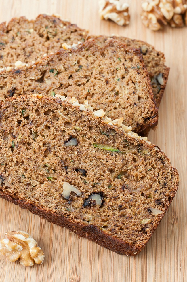 Whole grain fluffy flax zucchini bread forumfinder Image collections