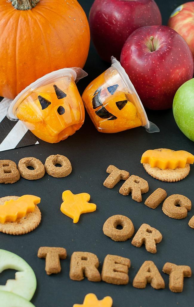 Spooky Snacks and Healthy Halloween Treats: Jack-O-Lantern Fruit Cups