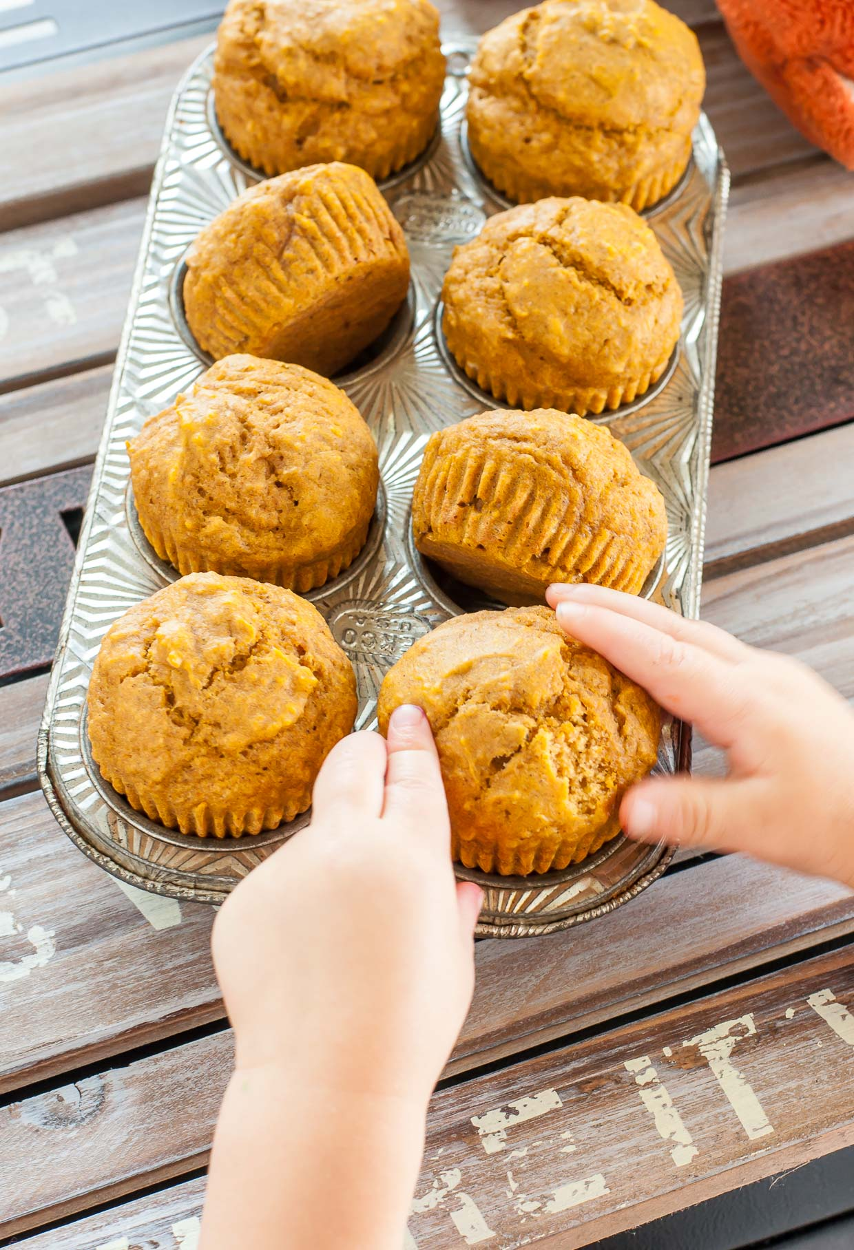 Pumpkin muffins: cooking recipe and photo