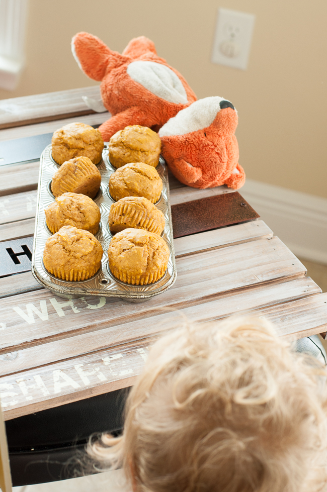 Life as a food blogger's kid + a Pumpkin Muffin recipe!