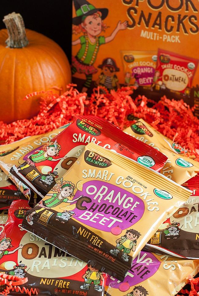 Spooky Snacks and Healthy Halloween Treats: Bitsy's Alphabet Smart Cookies