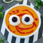 Spooky Halloween Monster Mash Soup