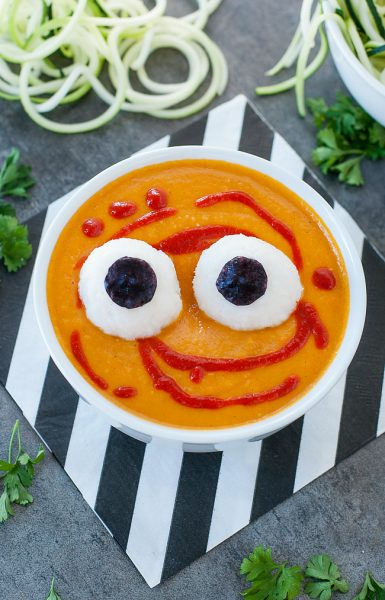 Spooky Halloween Monster Mash Soup