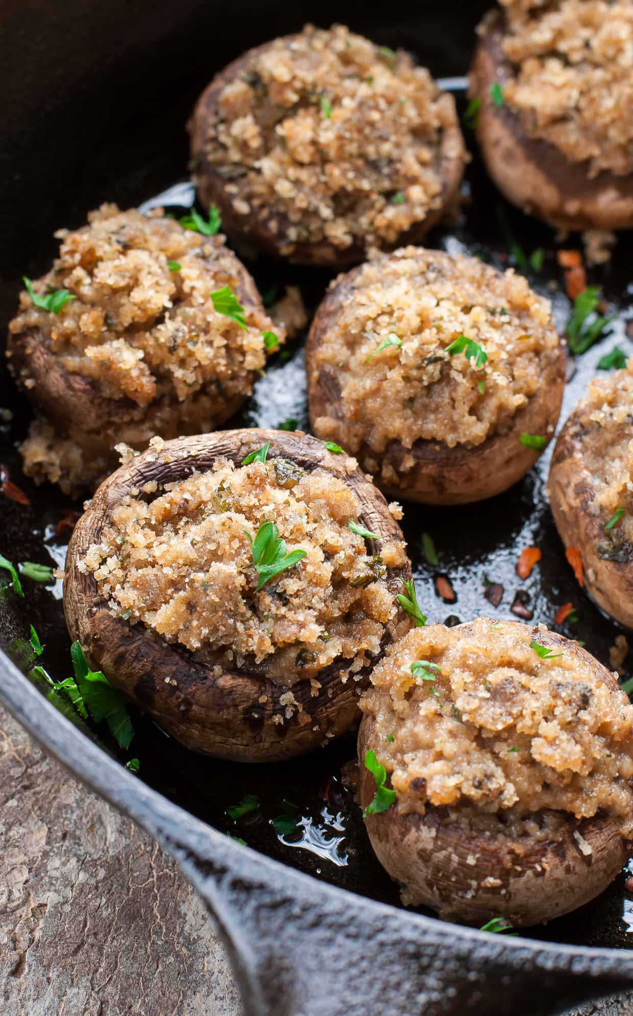 These classic stuffed mushrooms are a total crowd pleaser!