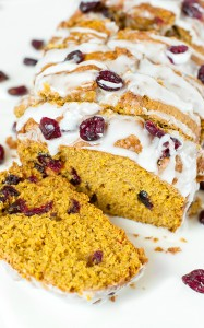 Cranberry-Orange Pumpkin Bread
