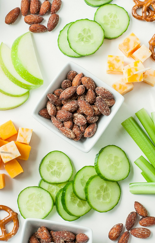 An easy game day snack plate is fit for a champion!