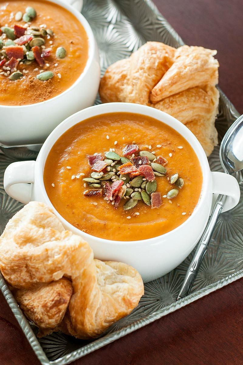 Slow Cooker Carrot Butternut Soup