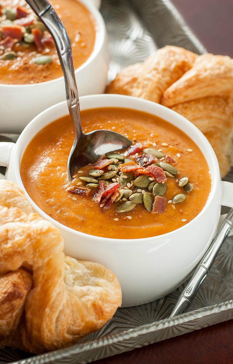 Carrot Butternut Soup