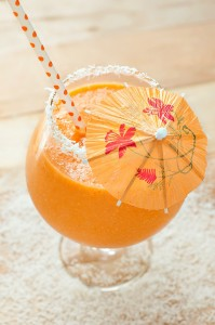 Carrot Mango Coconut Smoothie