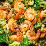 Szechwan Shrimp and Broccoli