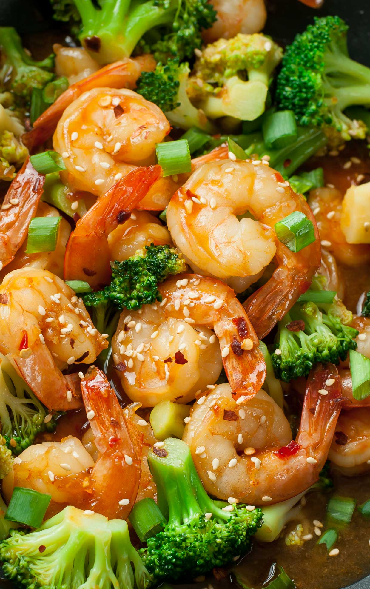 Szechwan Shrimp and Broccoli