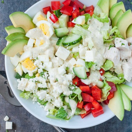 greek-cobb-salad-recipe-creamy-feta-greek-dressing-PEASandCRAYONSx-2517