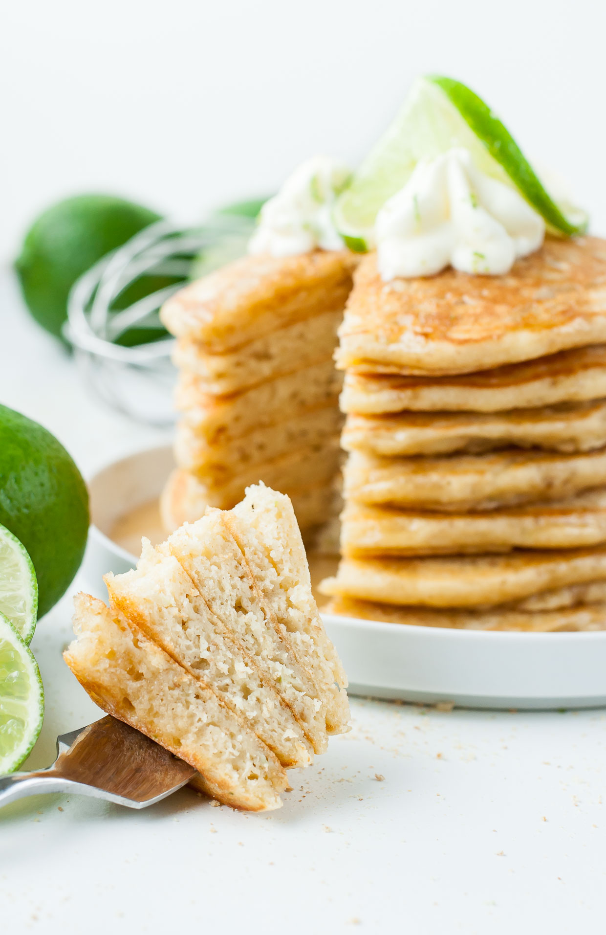 Key Lime Pie Pancakes EXIST!!!!! and they're beyond amazing