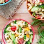 Classic Italian Veggie Pasta Salad
