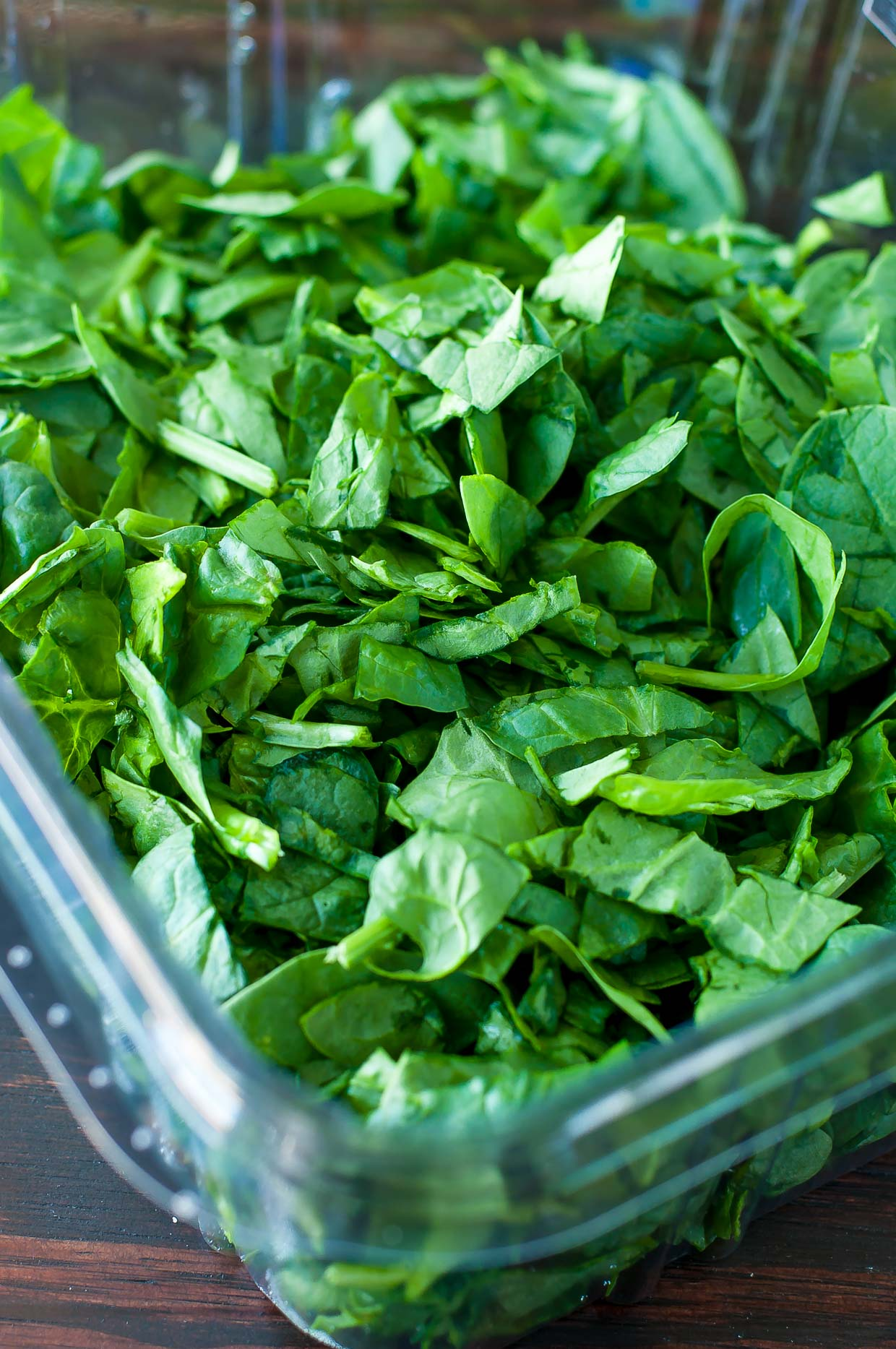 Fresh Box of Spinach for Cheesy Garlic Parmesan Spinach Spaghetti Squash