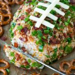 Jalapeño Popper Football Cheese Ball
