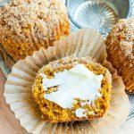 Delicious Pumpkin Spice Streusel Muffins!