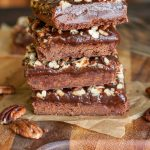 Deliciously LUXE Salted Chocolate Caramel Bars recipe