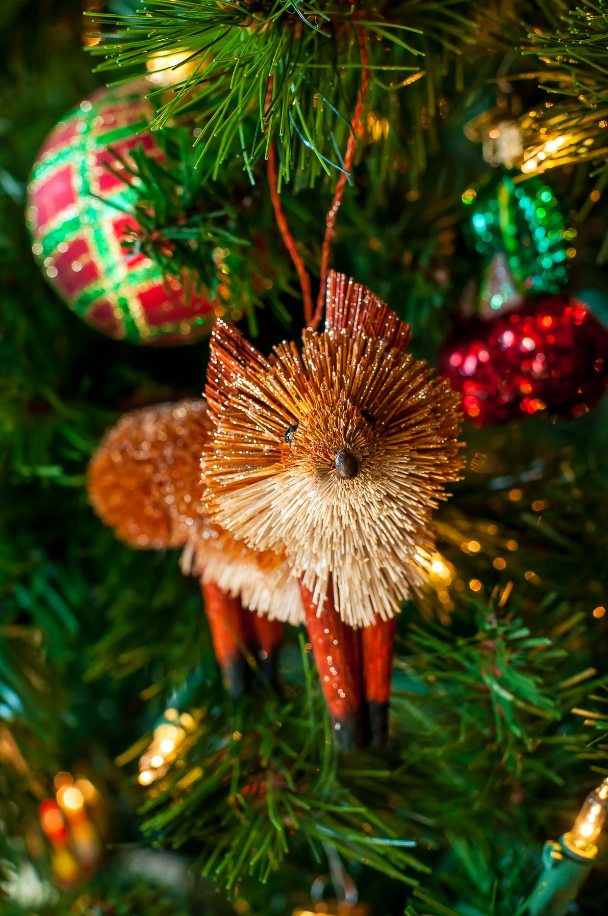 Christmas Tree-dition 2016: Our family's favorite holiday tradition - Fox Ornament