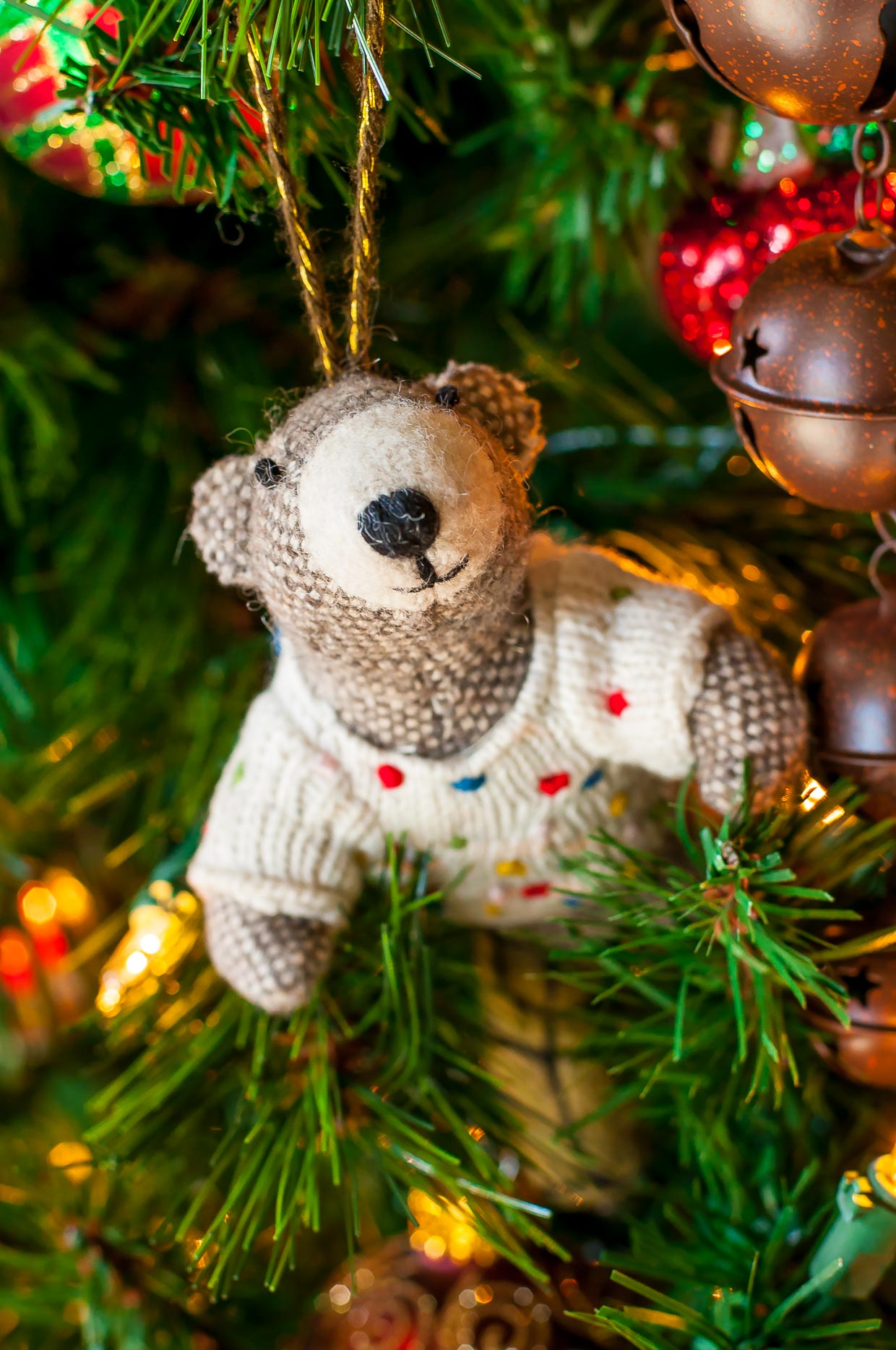 Christmas Tree-dition 2016: Our family's favorite holiday tradition - Bear Ornament