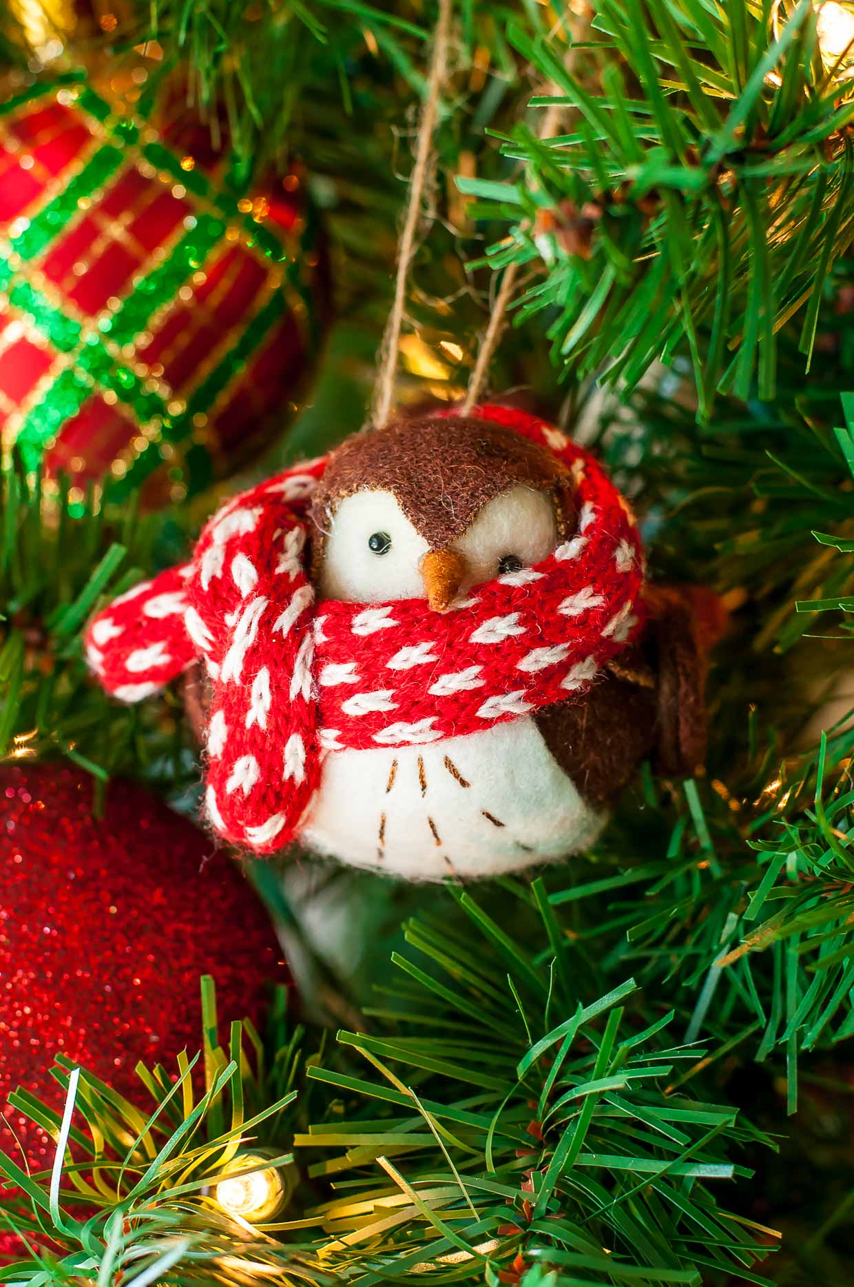 Christmas Tree-dition 2016: Our family's favorite holiday tradition - Bird Ornament