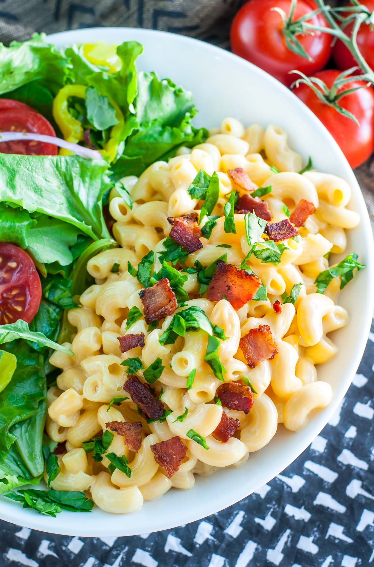 Sketch-Free 3 Minute Stovetop Mac and Cheese