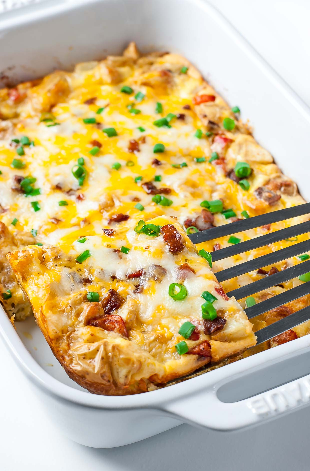 Cheesy Potato Breakfast Casserole Recipe — Dishmaps