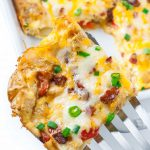 Cheesy Roasted Potato Breakfast Bake