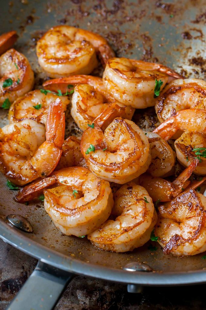 Spicy Sautéed Shrimp