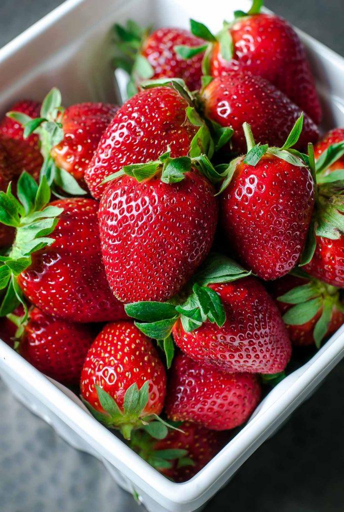 Farm Fresh Florida Strawberries + Balsamic Strawberry Steak Salad