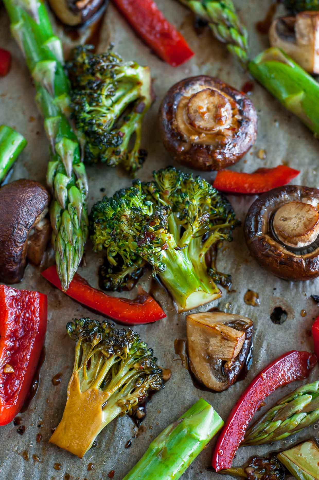 Easy Teriyaki Roasted Veggies