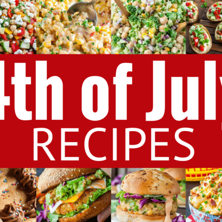 Let's pack that picnic table with tasty eats! Here are some easy 4th of July recipes to get ya started!