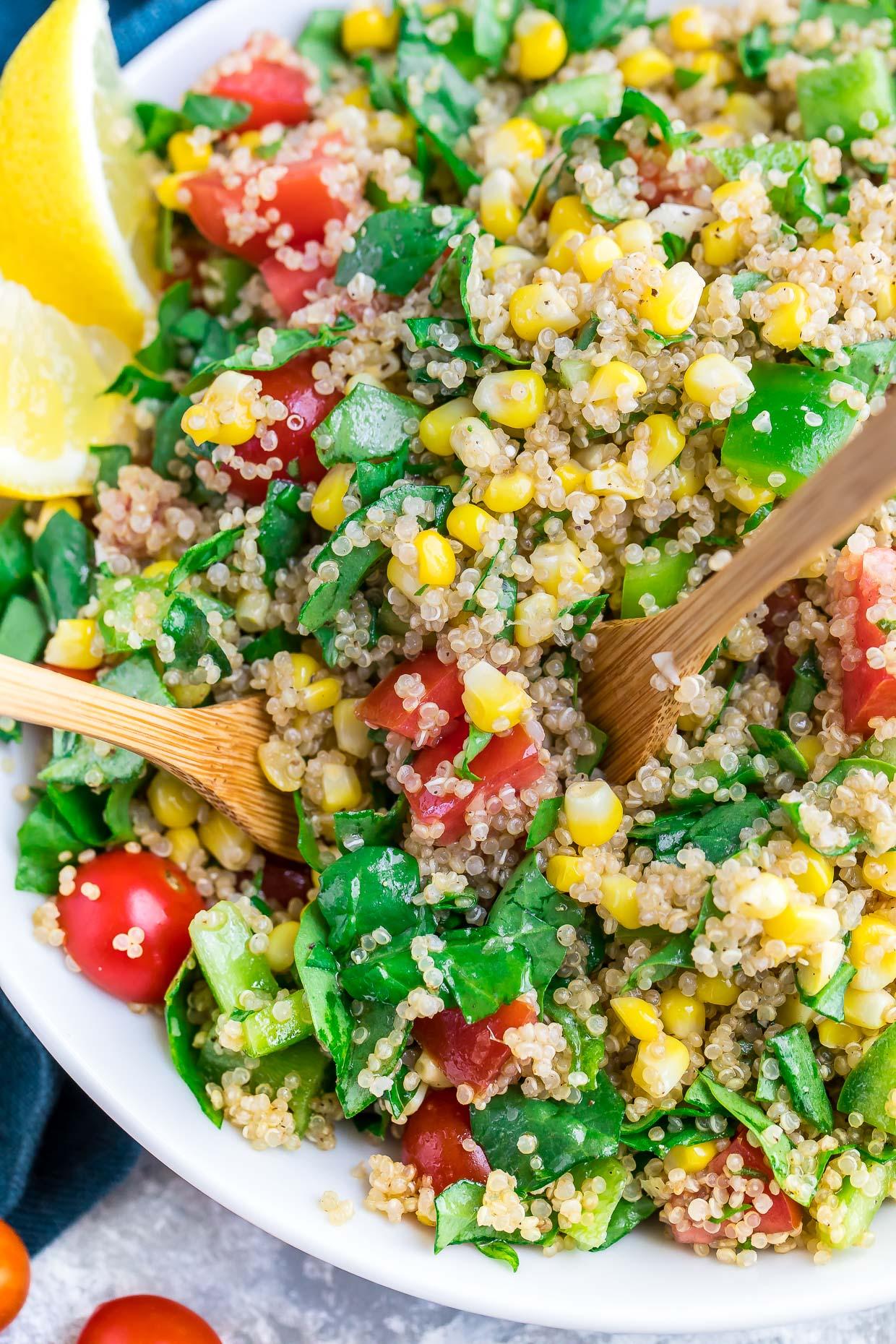 Quinoa-Vegetable Salad advise