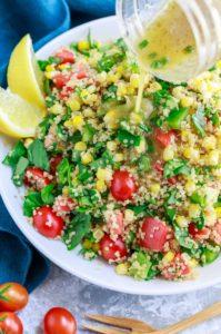 Garden Veggie Quinoa Salad