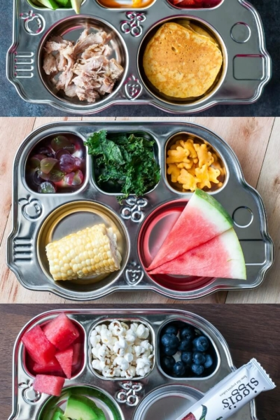 Toddler and Pre-K Lunch Ideas - a collection of healthy, colorful meals perfect for kids!