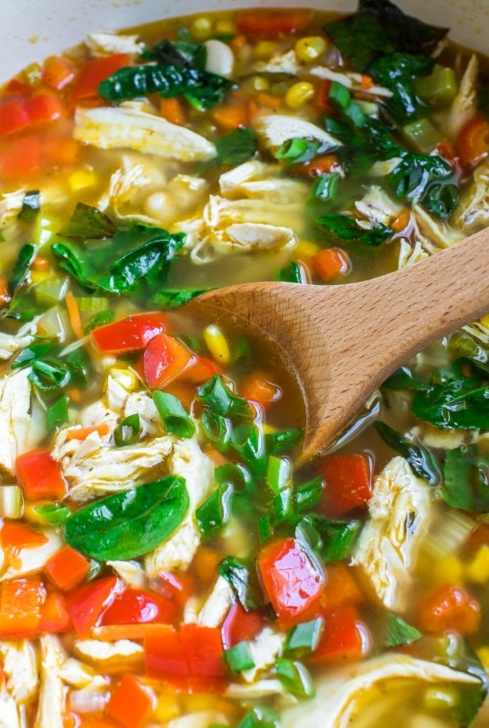 One-Pot Chicken and Vegetable Soup