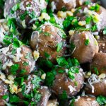 Garlic Parmesan Roasted Mushrooms