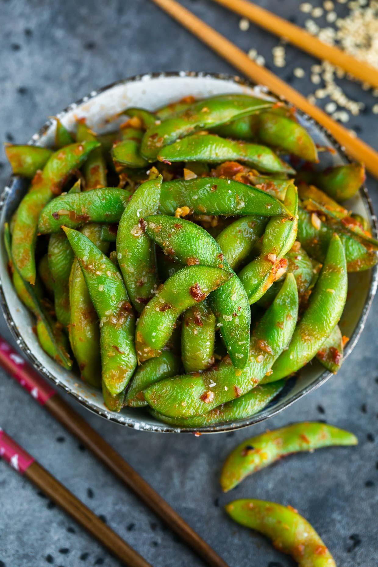 Spicy Sambal Edamame